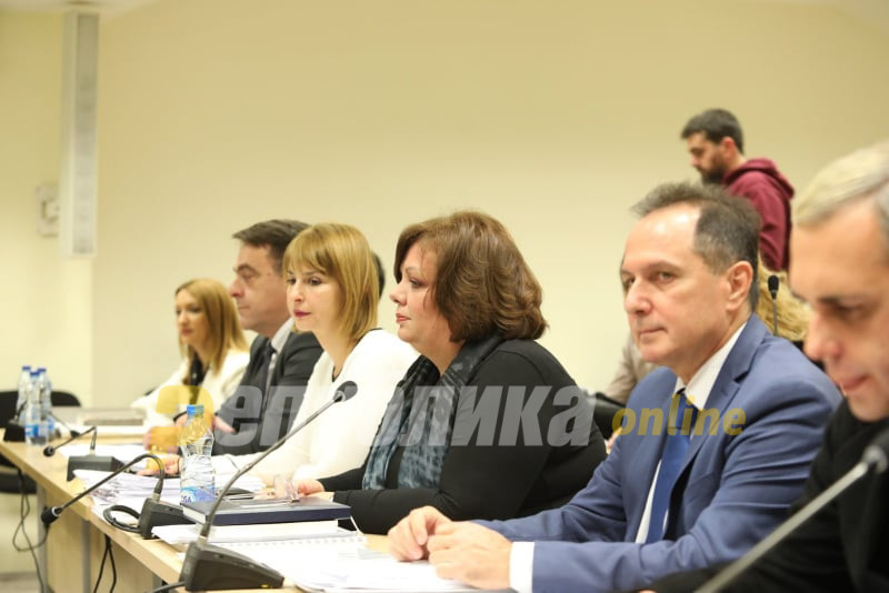 Janeva remained silent during Kamcev's testimony