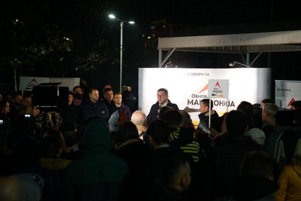 Mickoski in Gjorce Petrov: The biggest problem to justice today is Zoran Zaev