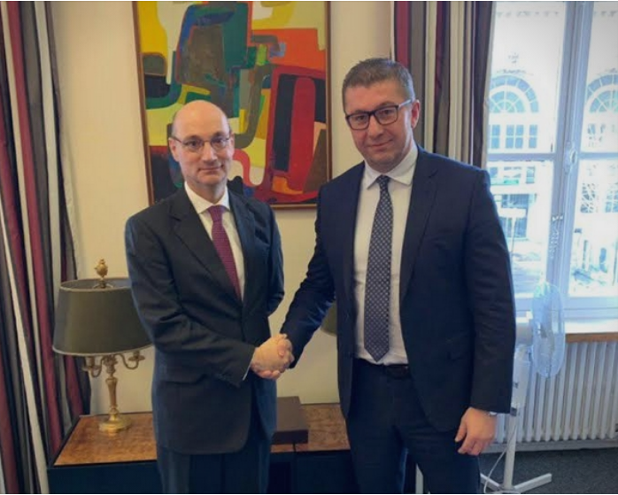 Mickoski meets with French Foreign Ministry officials in Paris