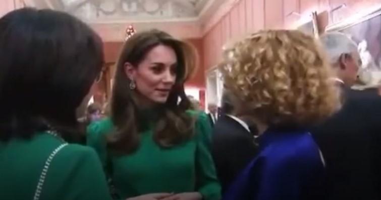 Defense Minister Radmila Sekerinska meets Kate Middleton in London