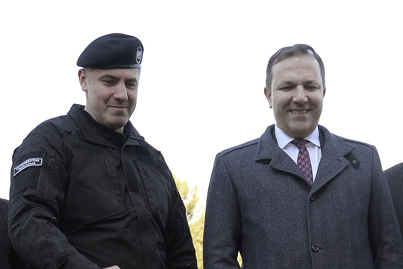 With days until he leaves office, Spasovski is promoting party loyalists in the Interior Ministry