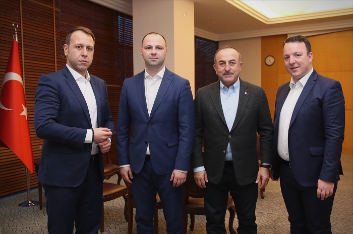 High level VMRO delegation visits Istanbul for a meeting with Foreign Minister Cavusoglu
