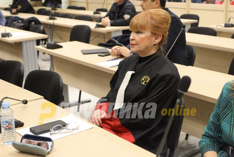 Prosecutor Ruskoska denies being good friends with Boki 13: I only went to one of his parties, and I also knew his mother
