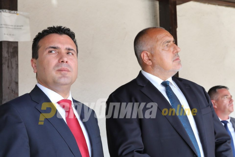 Zaev discussed the Goce Delcev issue with Borisov during their stay on a US aircraft carrier
