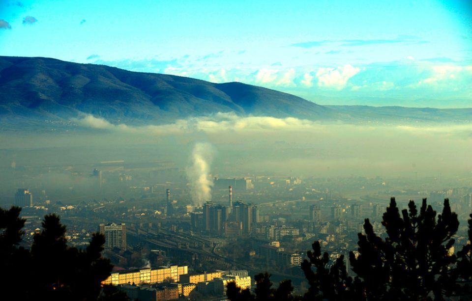 Skopje among top 5 most polluted cities in the world