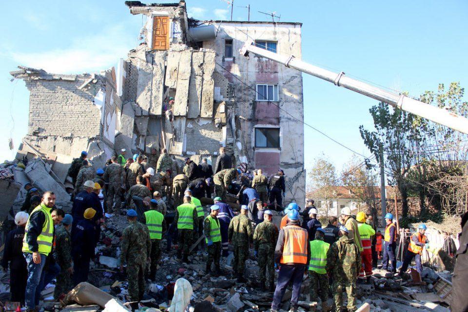 Albania arrests nine people after earthquake