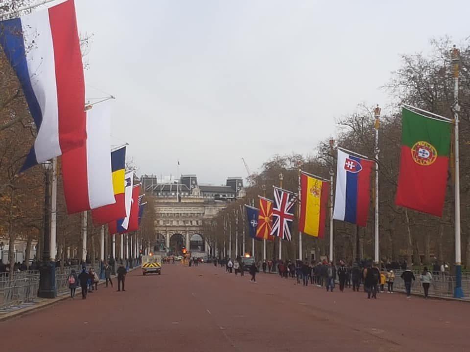 Sekerinska: Pride, the flag of our homeland raised in London!