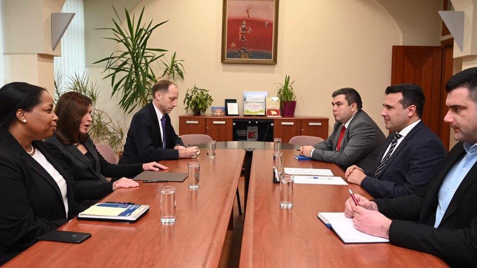 Zaev: The U.S. continuously supports the realization of our strategic interests