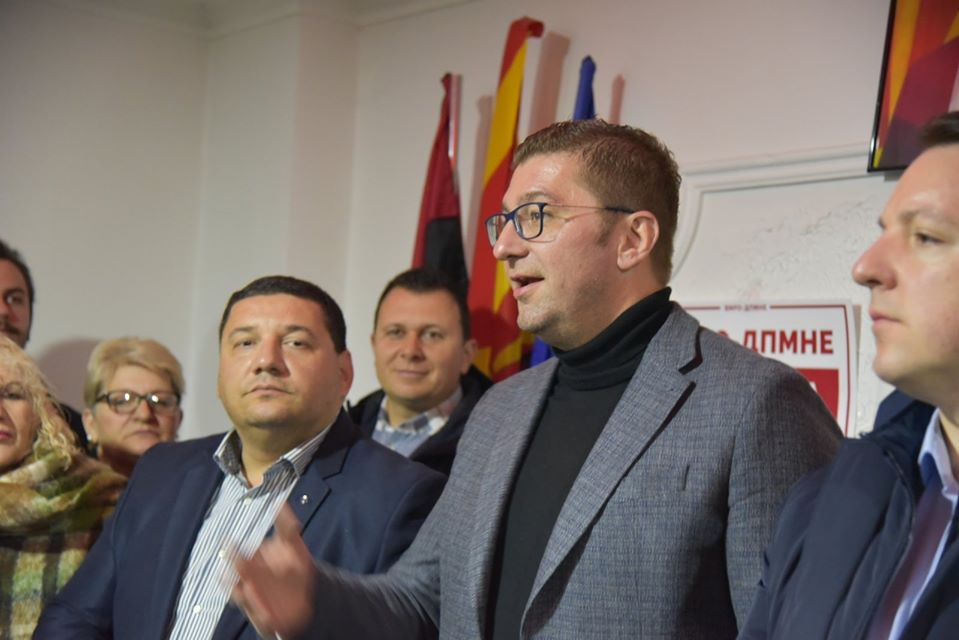 Mickoski rallies supporters in Prilep, promises an end to Zaev's rampant corruption