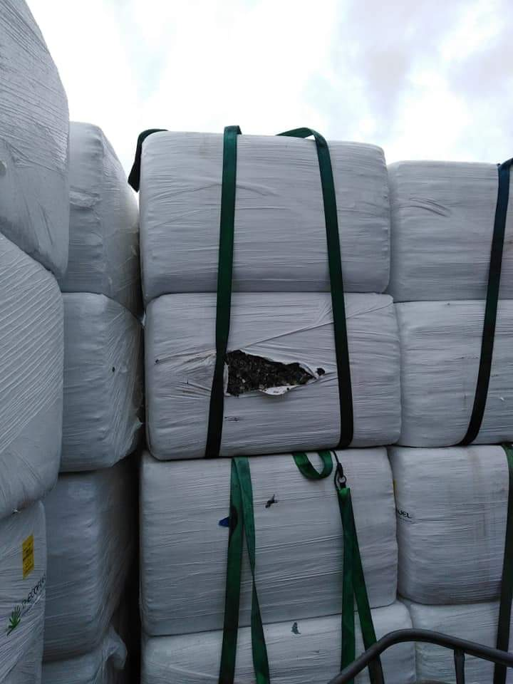 Extraordinary inspection of waste shipment at Bogorodica border crossing
