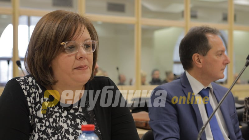 """Katica Janeva removed from the courthouse after calling Lile Stefanova """"a whore"""", among other choice words"""