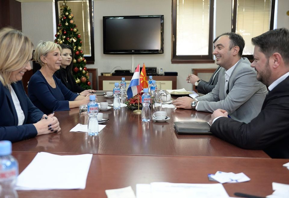 Interior Minister Culev disusses election preparations with members of the diplomatic corps