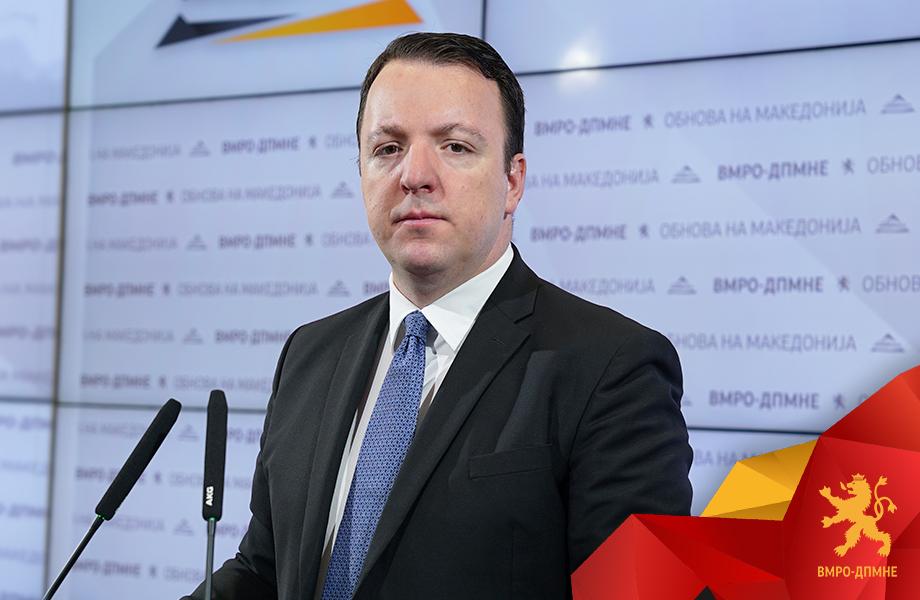 Nikoloski: In 2020 we will win and begin the renewal of Macedonia