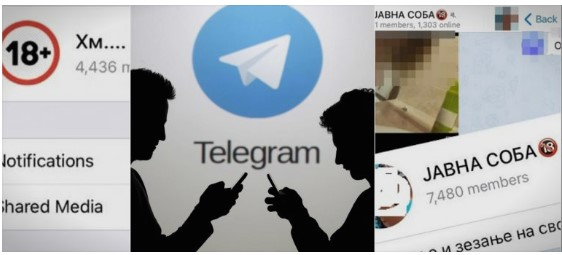Huge Telegram group used to share child pornography was set up by a 40 year old husband and father from Skopje