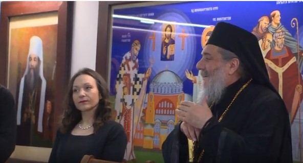 Minister Mizrahi and bishop Agatangel celebrate Christmas with Veles children suffering from palsy