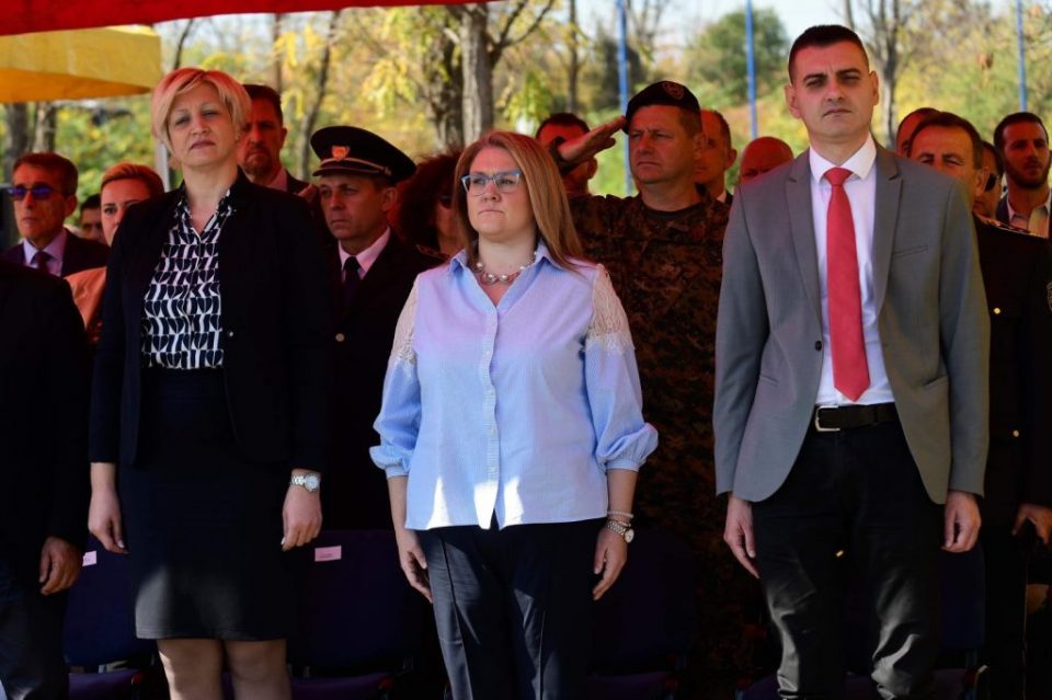 What professional qualifications does the additional deputy interior minister Slavjanka Petrovska have?
