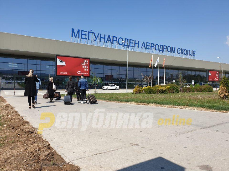 Coronavirus checks introduced at the Skopje airport