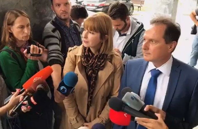 Janeva's lawyer Frckoska asks for understanding after her profane outburst, points to the political role of the disgraced Special Prosecutor
