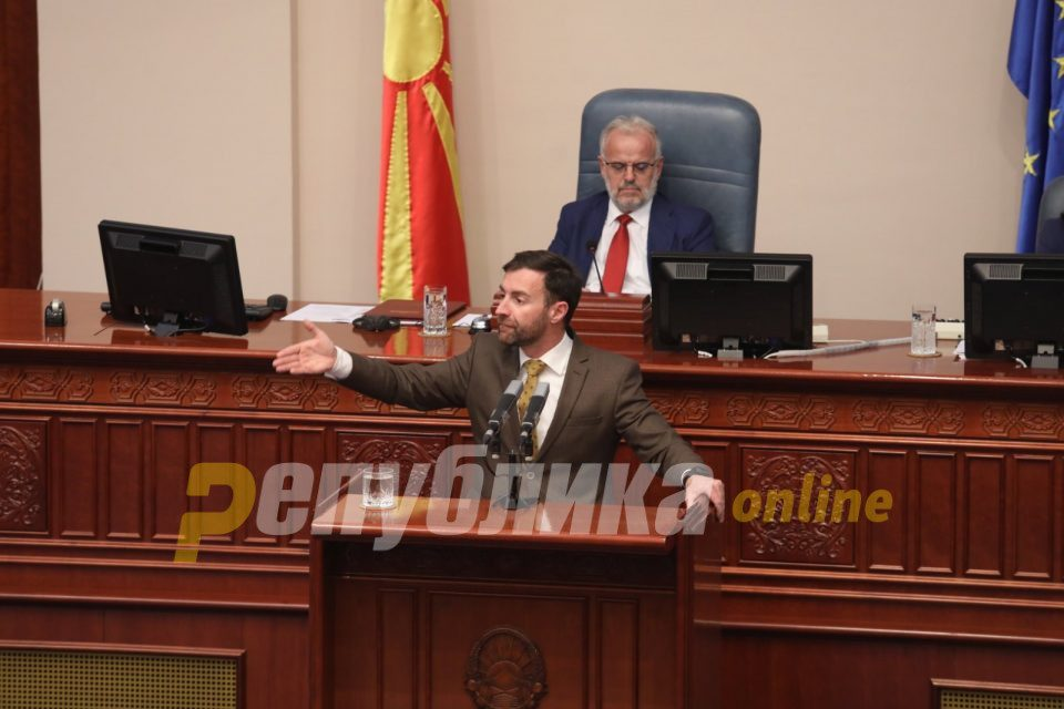Dimovski: VMRO-DPMNE will seriously oppose the attempt to annul lustration