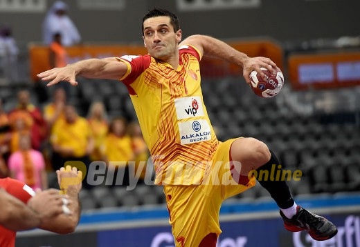 Kire Lazarov's last-second shot chosen as best at Euro handball championship