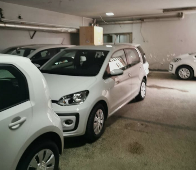 New cars left unused, waiting for Minister Filipce to inaugurate them