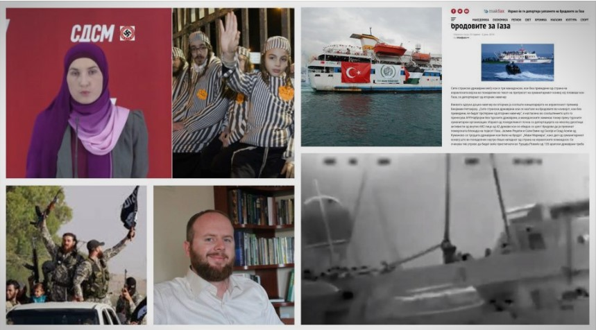Husband of SDSM official behind the anti-Semitic campaign was involved in the 2010 Gaza flotilla incident
