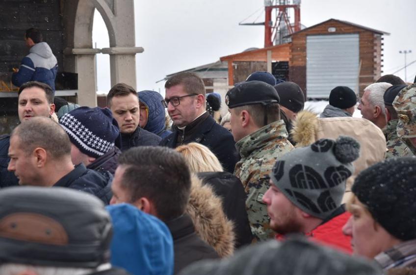 Mickoski: Macedonia is at a crossroad