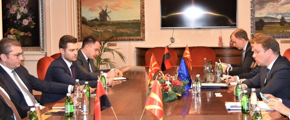 Nikoloski: VMRO-DPMNE will implement reforms and in cooperation with EU Enlargement Commissioner Várhelyi will secure a date for EU accession talks