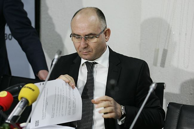 Former Interior Minister Mitko Cavkov begins prison hunger strike after he was denied the right to a surgery