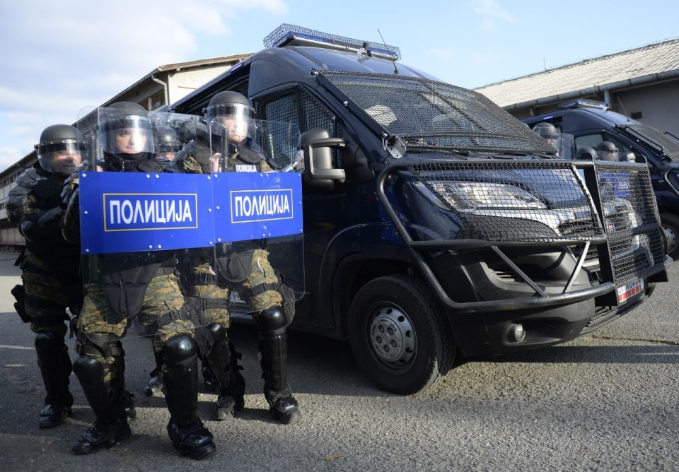 Czech donation for the riot police unit