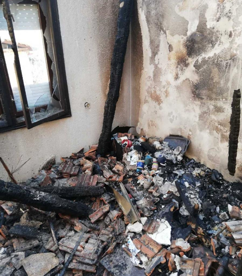 The Arsoski family from Kicevo needs help rebuild its home after a fire