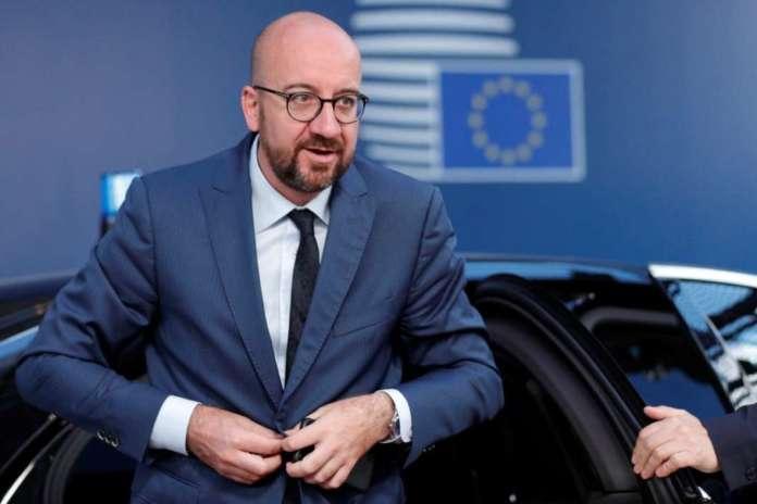 Charles Michel visits Macedonia