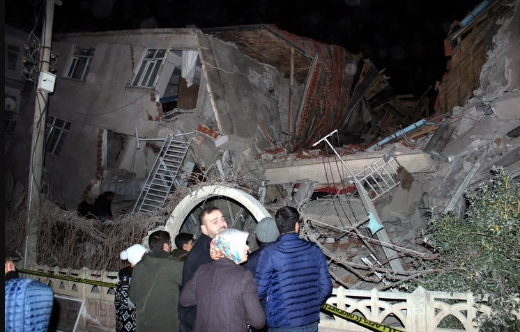 Eight dead, hundreds injured after 6.8-magnitude earthquake hits Turkey