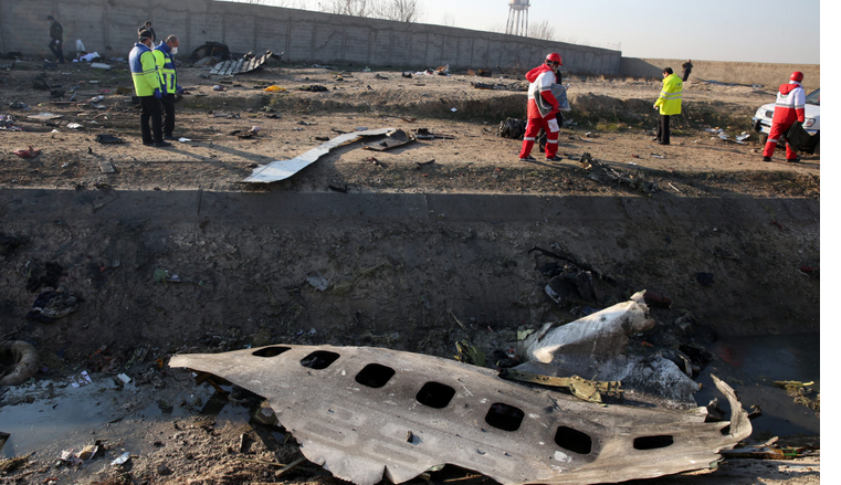 Ukrainian Boeing plane crashes in Iran shortly after takeoff, killing 176 on board