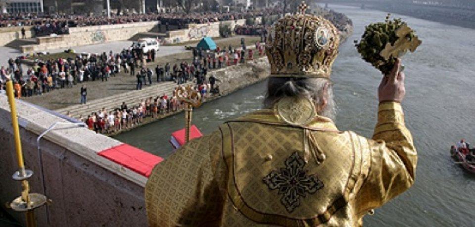 Macedonians celebrate Epiphany/Vodici