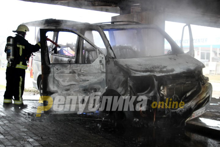 Jeep set on fire in Prilep overnight