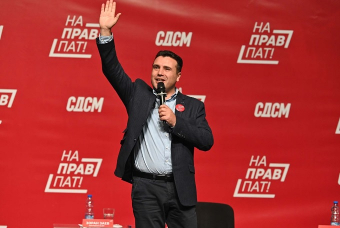 Zaev asks for another mandate so he can focus on the economy