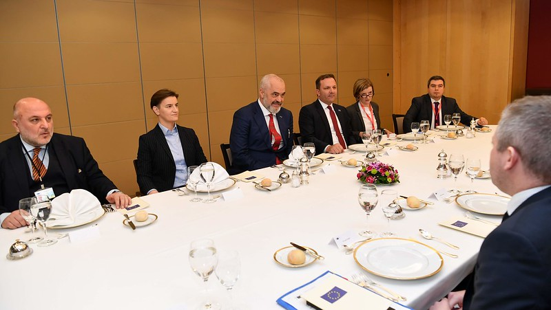 Spasovski meets Western Balkans leaders and Commissioner Varhelyi in Brussels