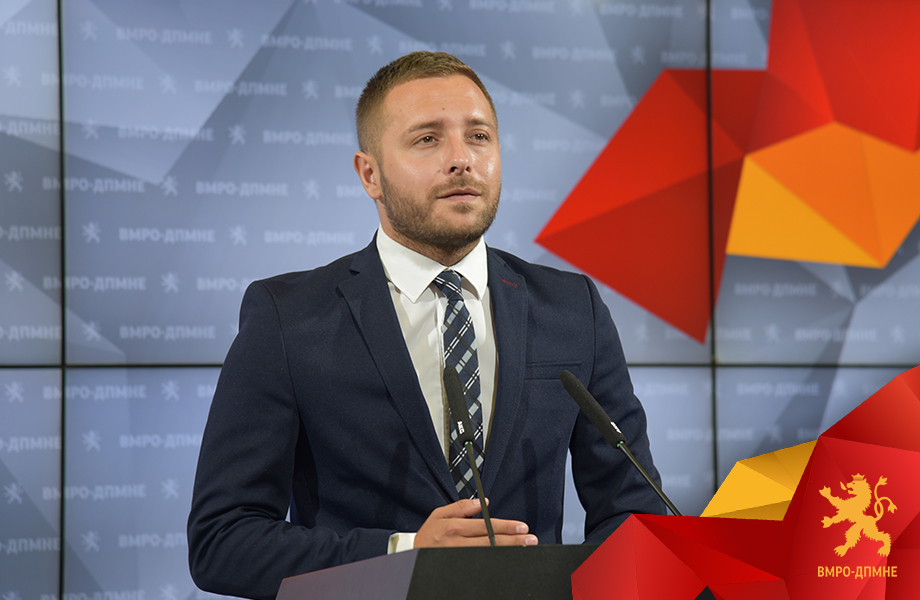Arsovski: VMRO-DPMNE team is analyzing the adoption of the laws on Public Prosecutor's Office and Council of Public Prosecutors