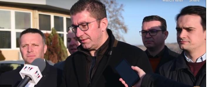 Mickoski: I expect Parliament to dissolve on Wednesday