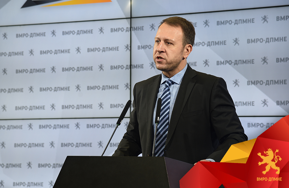 Janusev: VMRO-DPMNE is the first party in Macedonia that declared EU integration in its statute