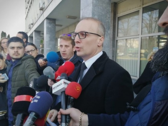 Following his publication of the latest Zaev tape, Milososki summoned to the prosecutor's office