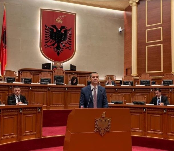 Albanian Parliament paves way for a Macedonian cultural center to open in Tirana
