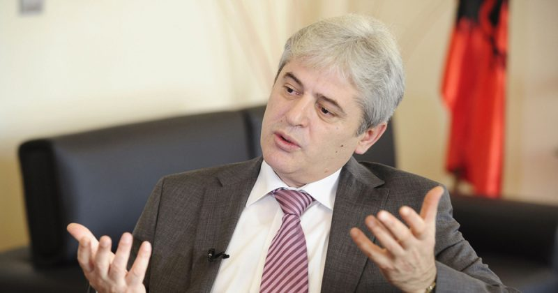 Ahmeti says he will only support the version of the PPO law that was proposed by the Government