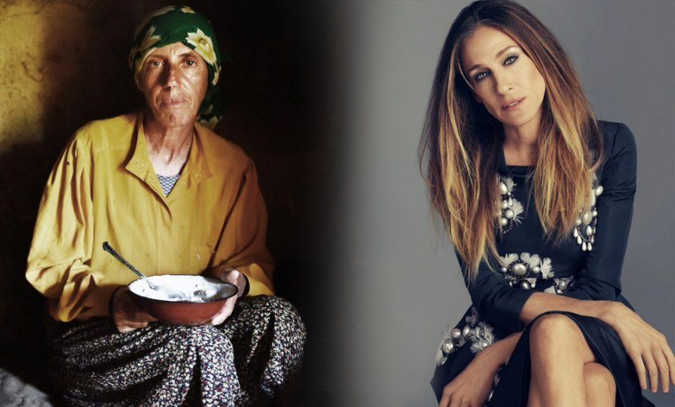 Honeyland's Hatidze told Sarah Jessica Parker's fortune by reading the coffee grains in bottom of her cup