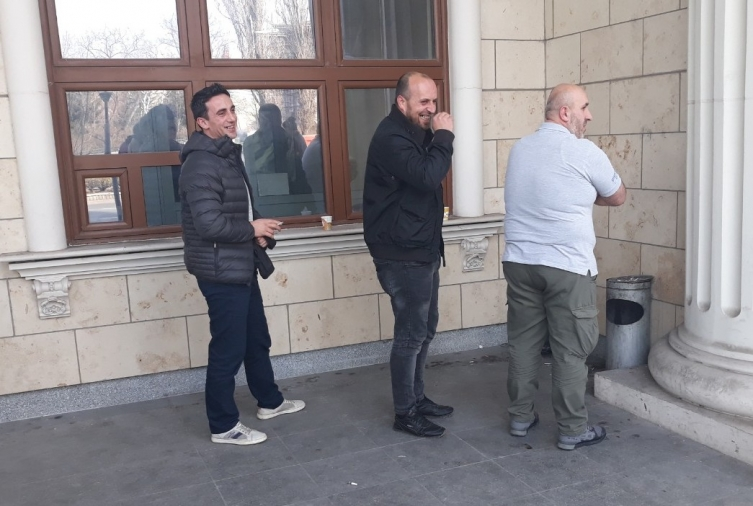 Perpetrators of the Good Friday massacre seen laughing after Zaev gave his testimony