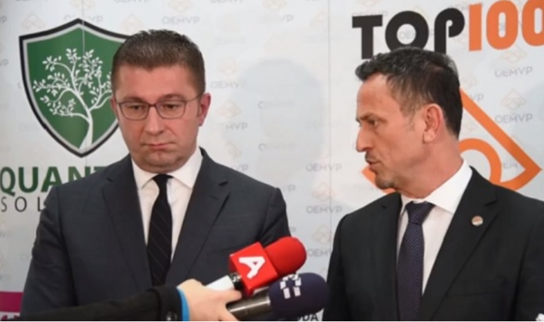 Hoxha: The economic program proposed by VMRO-DPMNE is realistic and achievable
