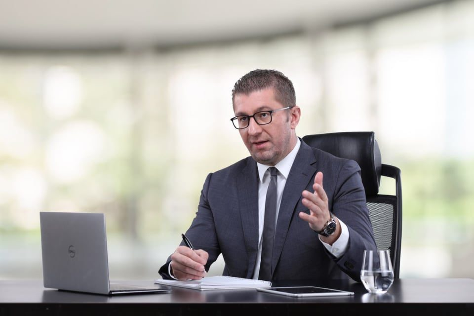 Mickoski: I see no reason for VMRO-DPMNE's further participation in Parliament