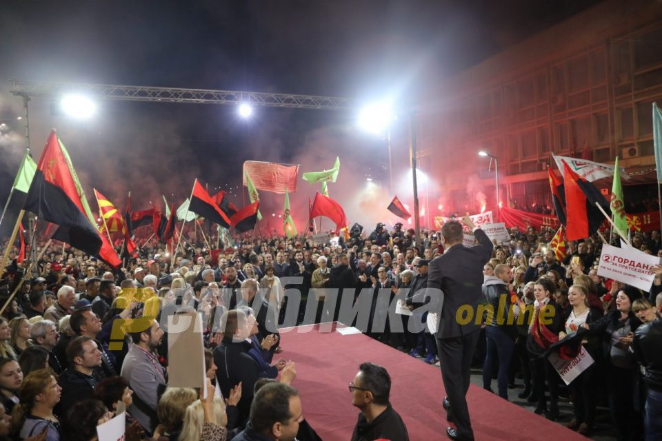 Mickoski: On April 12 will happen the largest coalition- VMRO-DPMNE and the citizens