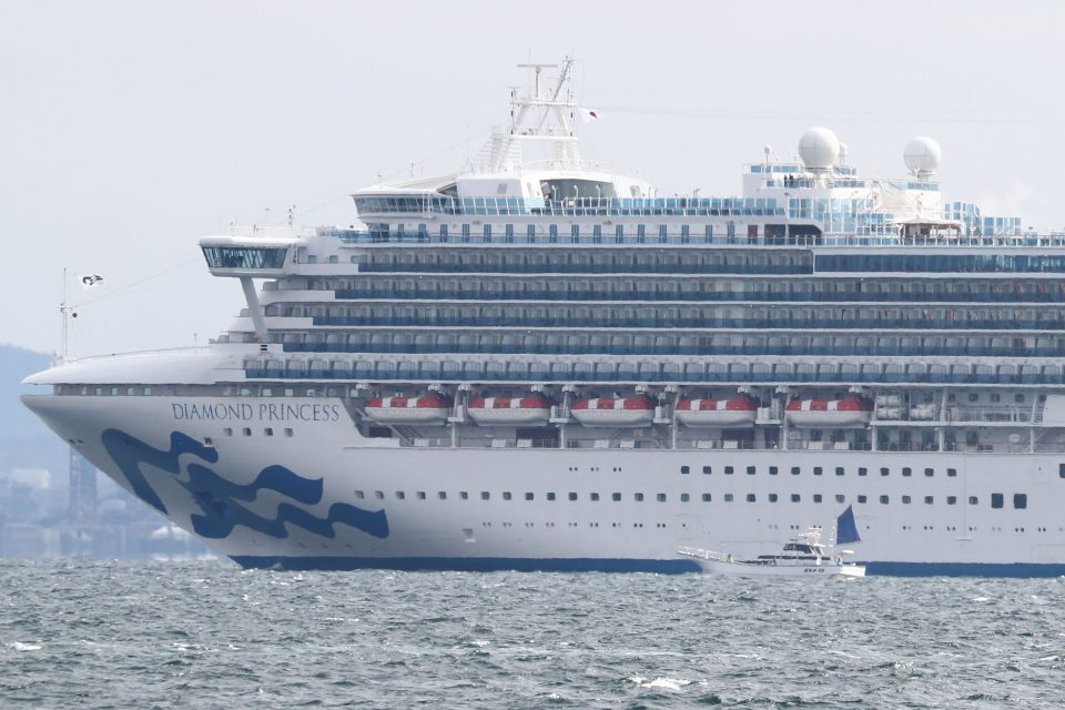 One of the three Macedonians on the Diamond Princess cruiser has contracted the coronavirus